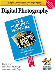 Bookcover of Digital Photography: The Missing Manual